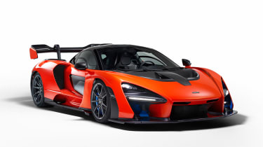 McLaren Senna - front