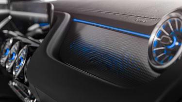 Mercedes EQA - interior detail