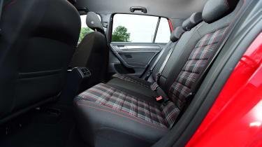 VW Golf GTI - rear seats