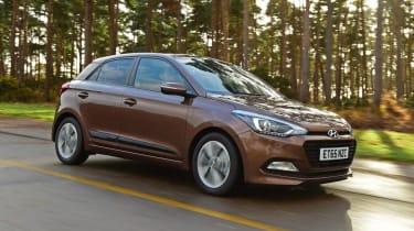 Used Hyundai i20 - front action