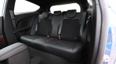 Ford Fiesta ST - rear seats