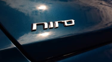 Kia Niro - rear badge