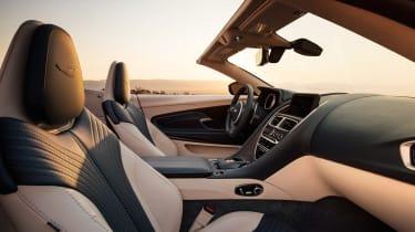Aston Martin DB11 Volante - front seats