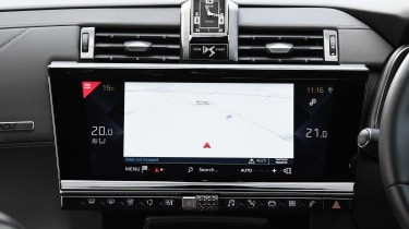 DS 7 Crossback - sat-nav