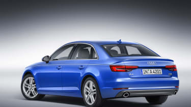 Audi A4 - rear static