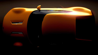 Kia GT4 Stinger teaser 2