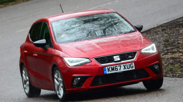 SEAT Ibiza - front action