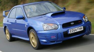 Subaru Impreza second generation facelift