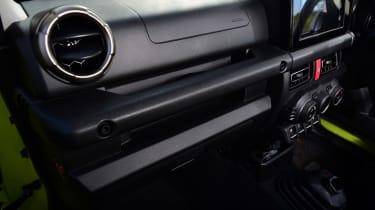 Suzuki Jimny - cabin trim