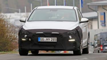 Hyundai i30 N Sport spy shots