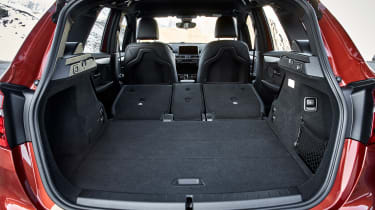 BMW 2 Series Active Tourer facelift - boot seats down
