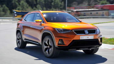 SEAT will take on the Nissan Qashqai in 2016 with their all-new mid-size 4x4.