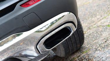 Mercedes GLC 220 d  - exhaust