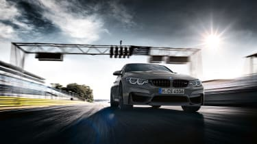 BMW M3 CS - front tracking