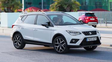 New SEAT Arona 1.6 TDI - front action