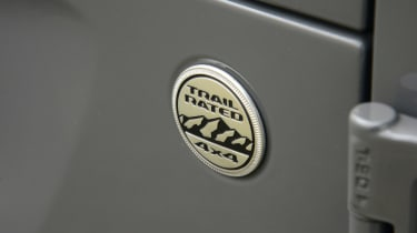 Jeep Wrangler - badge