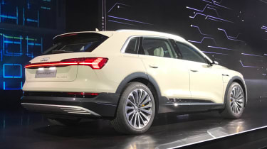 Audi e-tron - reveal white rear