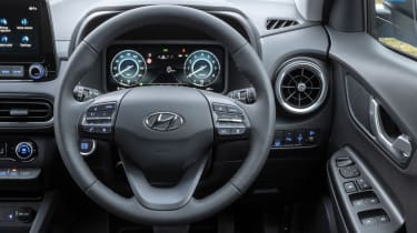 Hyundai Kona - steering wheel