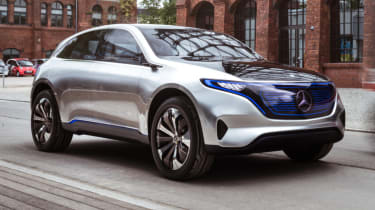 A to Z guide to electric cars - Mercedes EQ brand