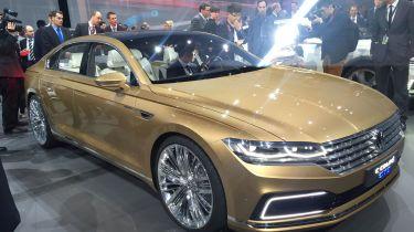 VW C Coupe GTE concept - front