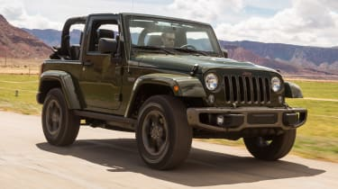 Jeep Wrangler 75th Anniversary - front header