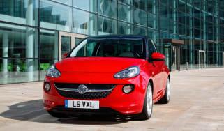 Vauxhall Adam: choosing options