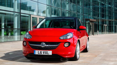 Vauxhall Adam: choosing options