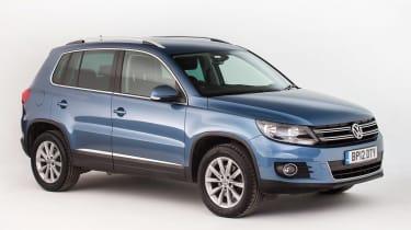 Used Volkswagen Tiguan - front