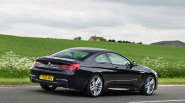 Used BMW 6 Series - rear action