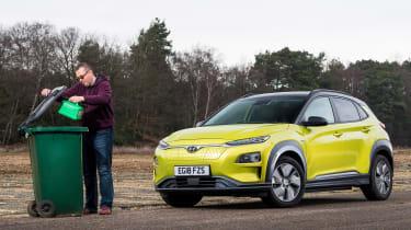 Hyundai Kona Electric - fourth report header