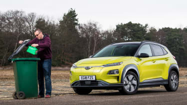 Hyundai Kona Electric - fourth report header