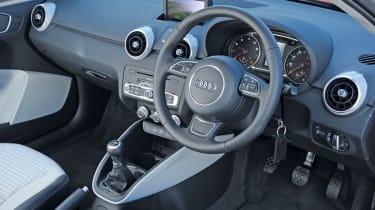 Audi A1 dash