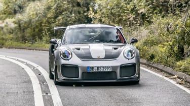 Porsche 911 GT2 RS - full front action