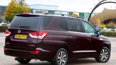 SsangYong Turismo - rear static
