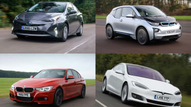 Best low emissions green cars - header