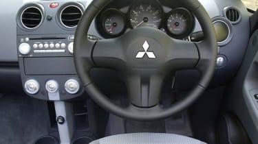 Mitsubishi Colt CZC interior