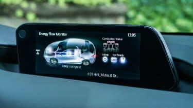 Mazda 3 SkyActiv-X - infotainment