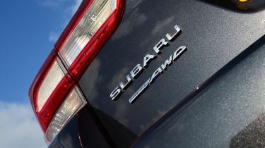 Subaru XV - rear badge
