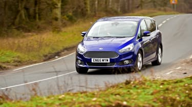 Ford S-MAX long-term - front tracking