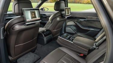 Audi A8 - rear seats