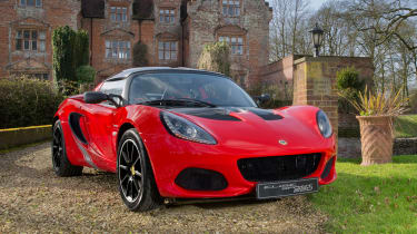lotus elise sprint 220 front quarter
