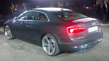 Audi A5 - official reveal rear