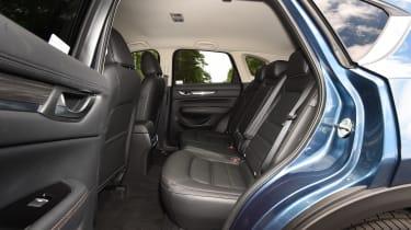 Mazda CX-5 vs Skoda Kodiaq vs VW Tiguan - Mazda CX-5 rear seats