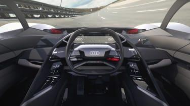 Audi PB18 e-tron concept - cabin centre
