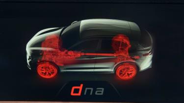 Alfa Romeo Stelvio - drive select