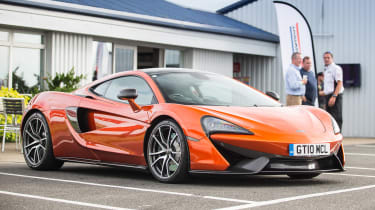 McLaren 570GT long term second report - front static