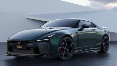 Nissan GT-R50 by Italdesign - green front 3/4 static