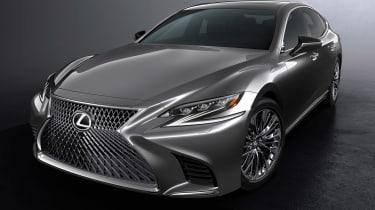 Lexus LS official side