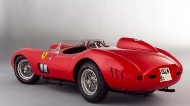 1957 Ferrari 335 rear three quarter - most expensive cars