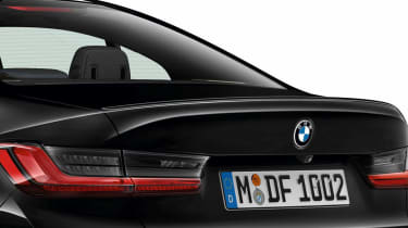 Leaked BMW 3 Series - rear detail